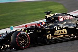 Formule 1 Actualités Grosjean relégué en dernière ligne à Abu Dhabi