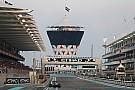 Startopstelling Grand Prix van Abu Dhabi