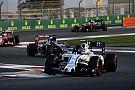 Williams assure avoir relâché Bottas