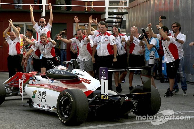 罗森奎斯特参加GP2测试