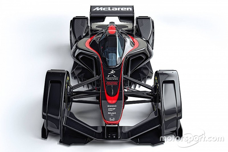 McLaren introduceert F1-concept voor de toekomst
