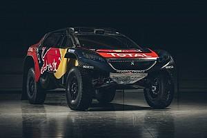 Dakar Toplijst Foto's: Peugeot onthult livery voor Dakar Rally