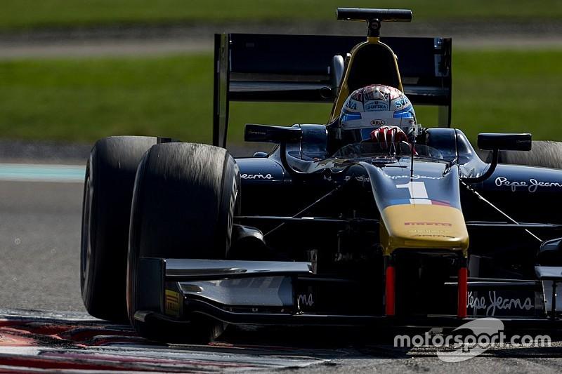 Latifi bovenaan tweede GP2-testdag Abu Dhabi