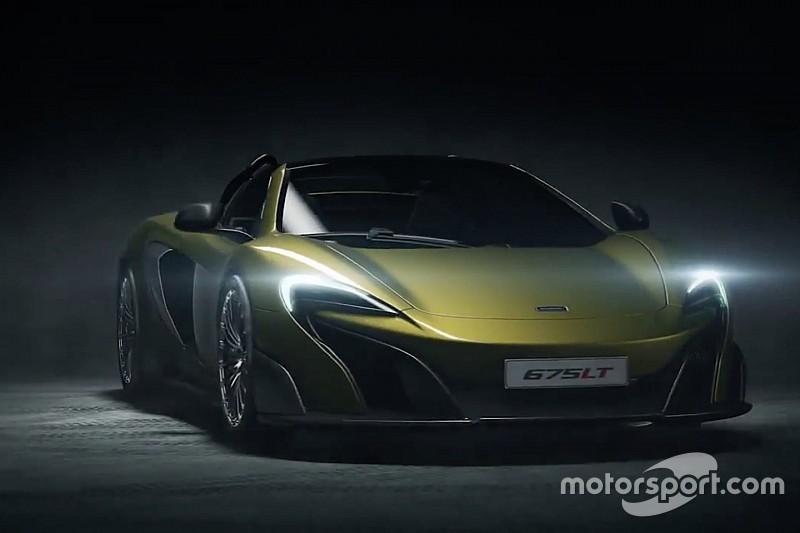 Cabrioversie McLaren 675LT scheurt vroegtijdig het internet op