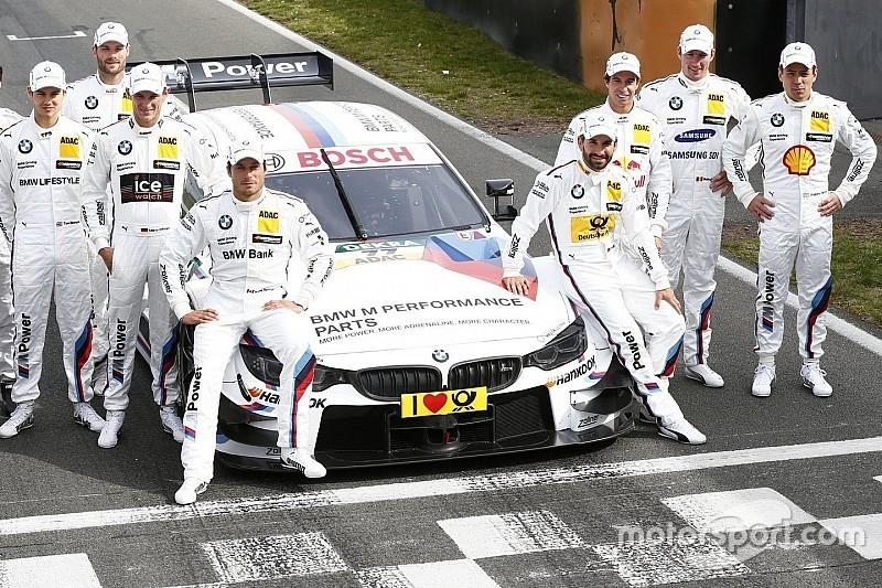 B BMW не стали менять состав пилотов в DTM