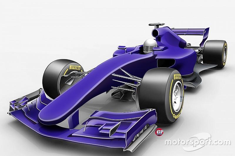 """النظرة الأولى على سيارات موسم 2017 """"الأسرع"""" في تاريخ الفورمولا واحد"""