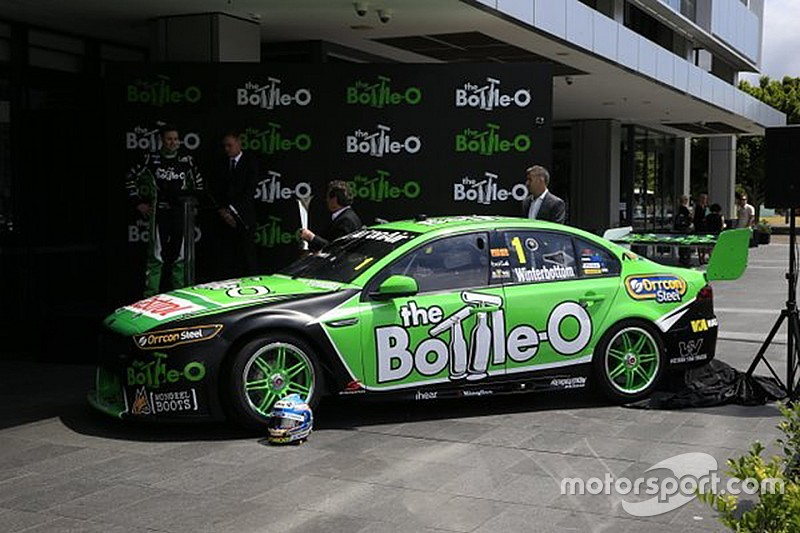 Winterbottom to race in Bottle-O colours