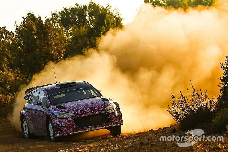 Hyundai vor Präsentation des WRC-Neuwagens für 2016