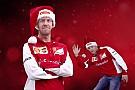 Los pilotos de Ferrari cantan en Navidad -Video