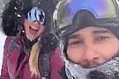 Hamilton con la Vonn sulle nevi del Colorado