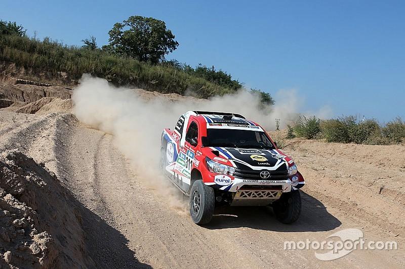 Prologue - Ten Brinke et Toyota premiers leaders!