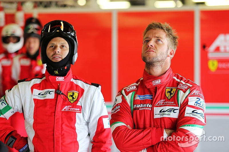 Bird vervangt Vilander in Ferrari WEC line-up