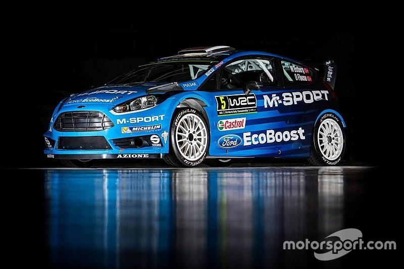 M-Sport unveils 2016 WRC challenger