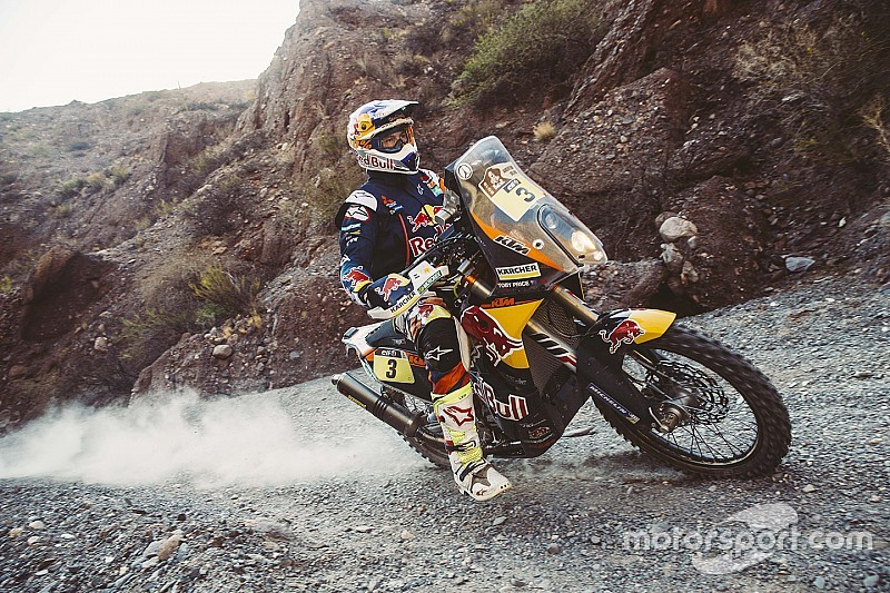 """Dakar, Price: """"Devo rimanere calmo e concentrato"""""""