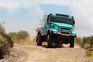 Dakar Interview De Rooy surprised with Dakar lead