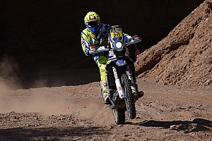 Dakar Stage report Sherco TVS on recovery mode in final stages