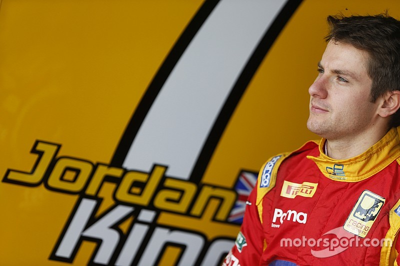 Jordan King con Racing Engineering anche nel 2016