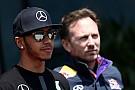 Horner diz: incentivei Mercedes a tirar Hamilton da McLaren