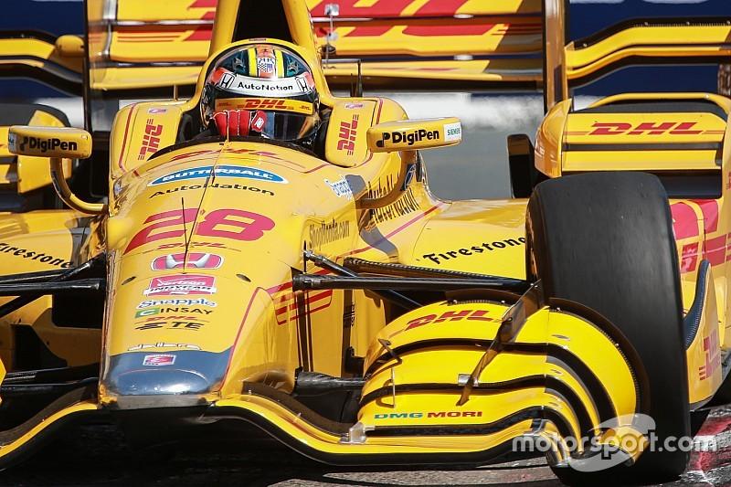 Andretti Autosport impressed with Honda's 2016 upgrades