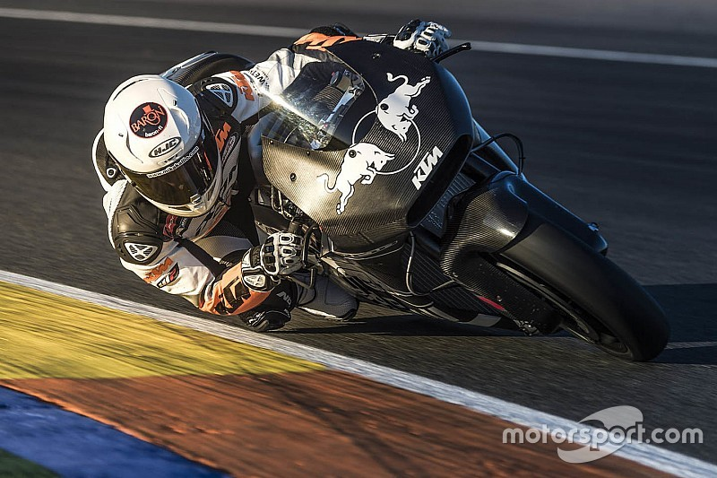 De Puniet, Luthi join KTM MotoGP test team