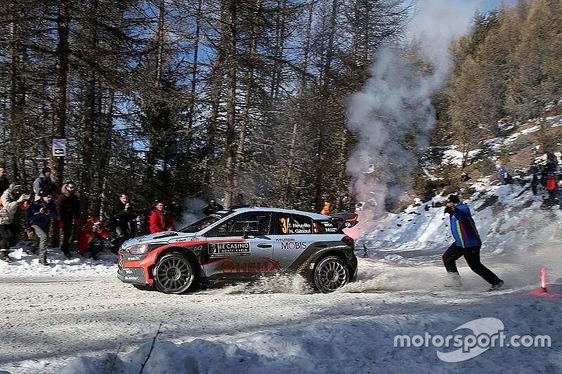 WRC蒙特卡罗拉力赛第三日:米克和拉特瓦拉退赛