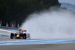 Formula 1 Test Ricard, Day 1: Ricciardo indica la strada... bagnata