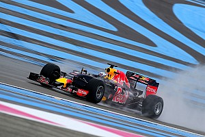 Fórmula 1 Relato de testes Ricciardo lidera 1º dia de teste da F1 com pneus de chuva