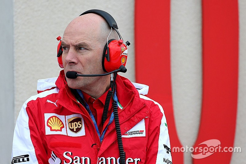 Jock Clear begonnen aan werkzaamheden bij Ferrari
