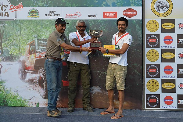 Offroad Jagat Nanjapa wins RFC South India