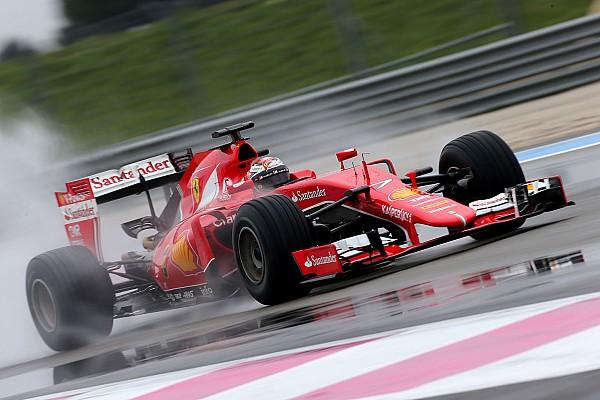 Galeria: os números dos testes de pneus de chuva da Pirelli