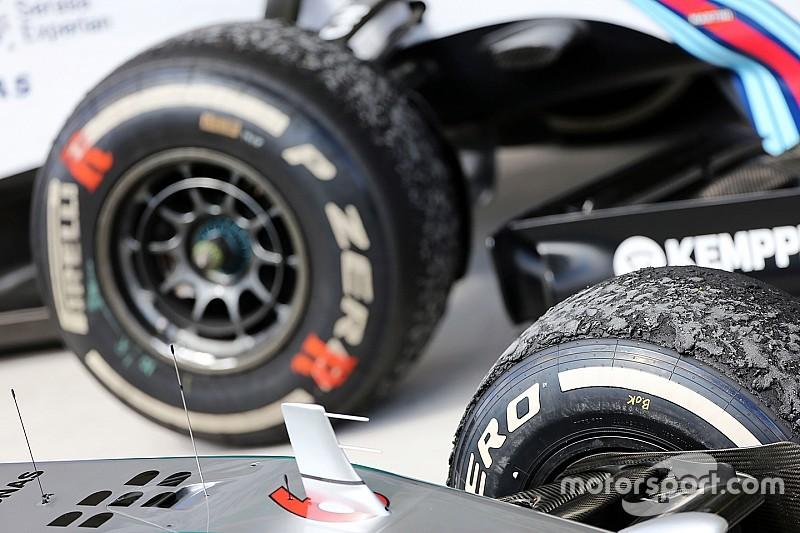 Ecclestone backs calls for F1 tyres overhaul