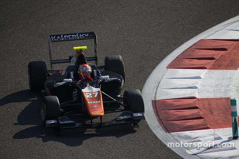 Fuoco, Alesi, Janosz e Stuvik con Trident in GP3