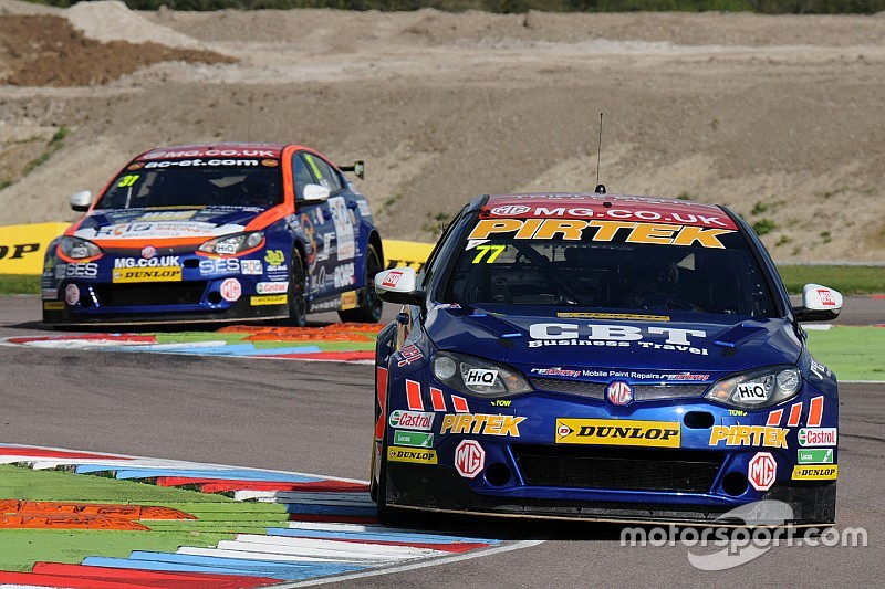 "MG admits lack of driver continuity an ""issue"""