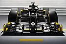 Renault mit Jolyon Palmer und Kevin Magnussen in Schwarz-Gelb