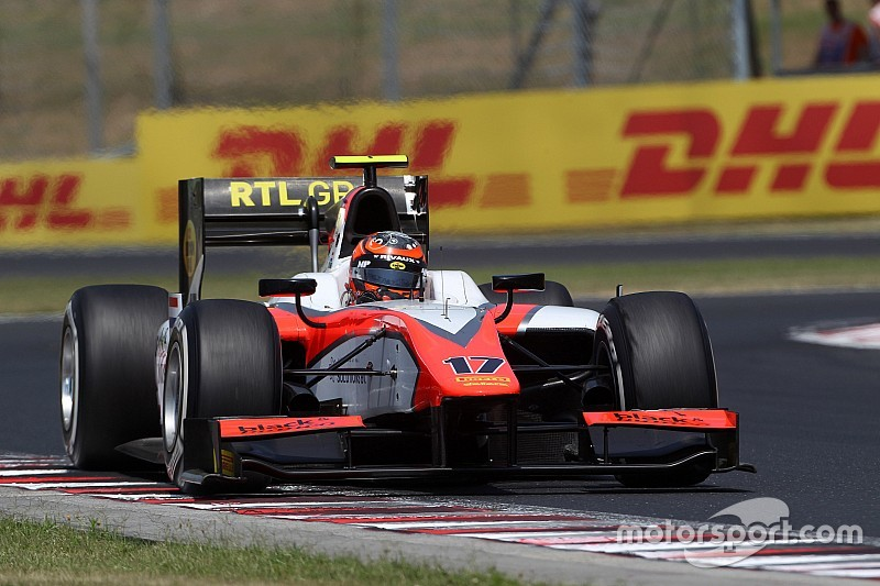 De Jong racet ook dit jaar voor MP Motorsport in GP2