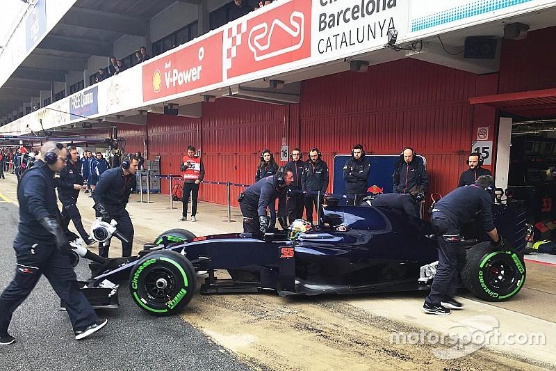 红牛二队新车STR11准备开始F1季前测试