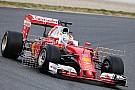 Vettel lidera manhã de testes da F1 em Barcelona