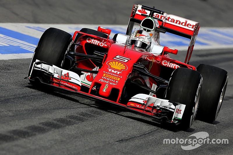 Test Barcellona, Day 1: Vettel veloce, Hamilton maratoneta