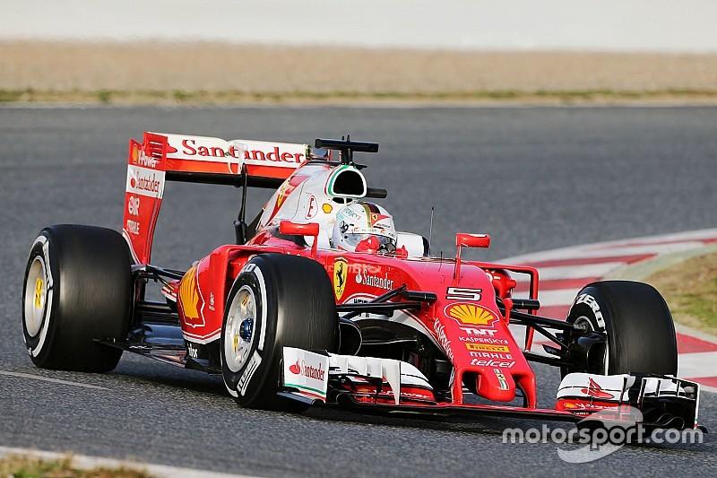 法拉利维特尔在超软胎测试中胜出