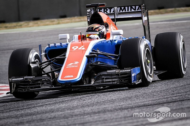 Feliz, Wehrlein vê carro da Manor em franca evolução