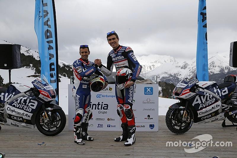 Presentato in Andorra il team Avintia Racing di MotoGP
