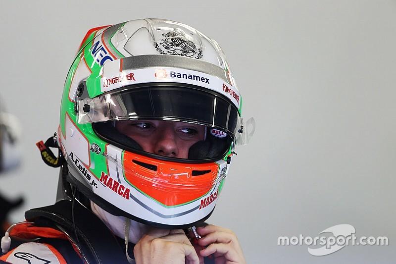 Force India: Celis Jr. necesita ser veloz para llevar el auto al límite