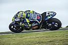 Satisfeito, Rossi explica queda e vê moto competitiva