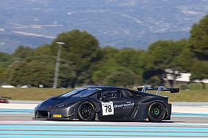BES News Lamborghini mit Bestzeit bei den Tests der Blancpain-GT-Serie auf dem Circuit Paul Ricard