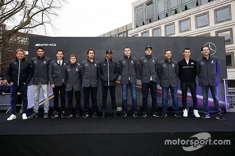 梅赛德斯: F1和DTM车手都准备好迎接新赛季