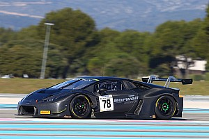Blancpain Endurance Résumé d'essais Lamborghini en tête à l'issue des deux journées au Castellet