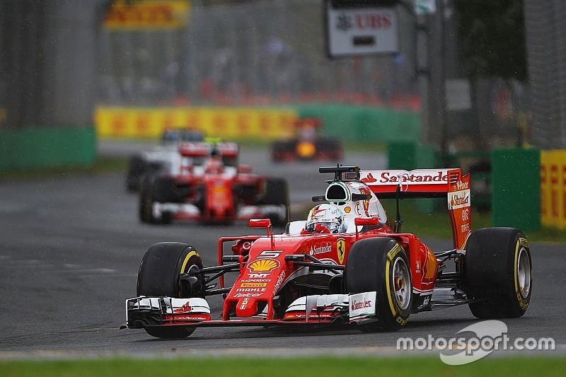 3. Training: Ferrari-Pilot Sebastian Vettel bester Verfolger von Mercedes