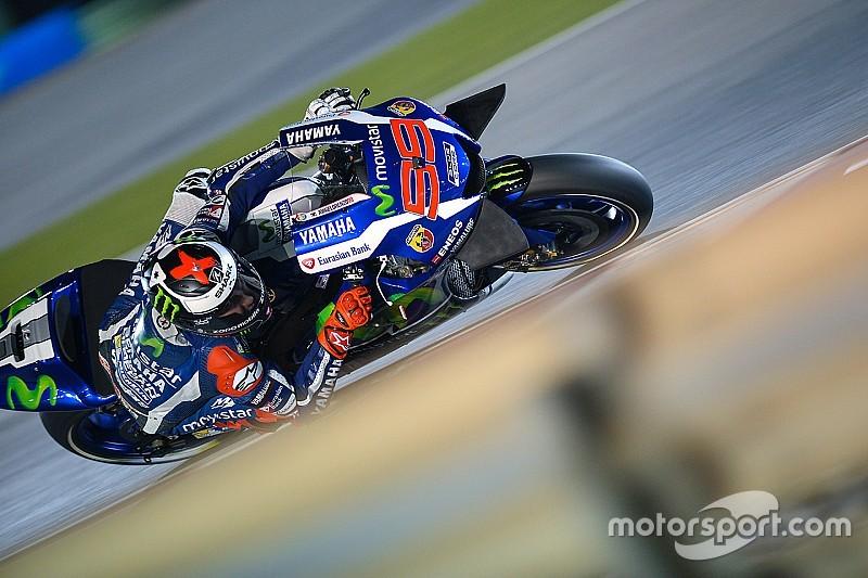 La prima pole dell'era Michelin è di Jorge Lorenzo in Qatar