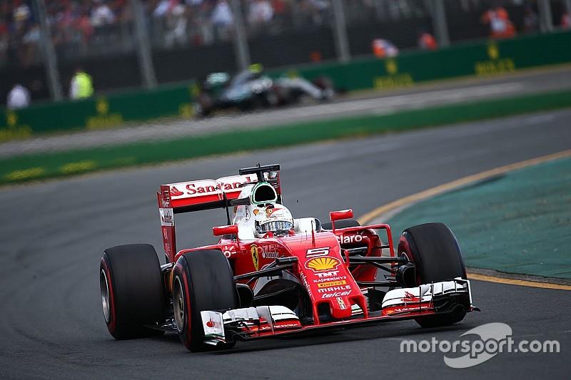 Vettel: resultado positivo pese al error en la estrategia