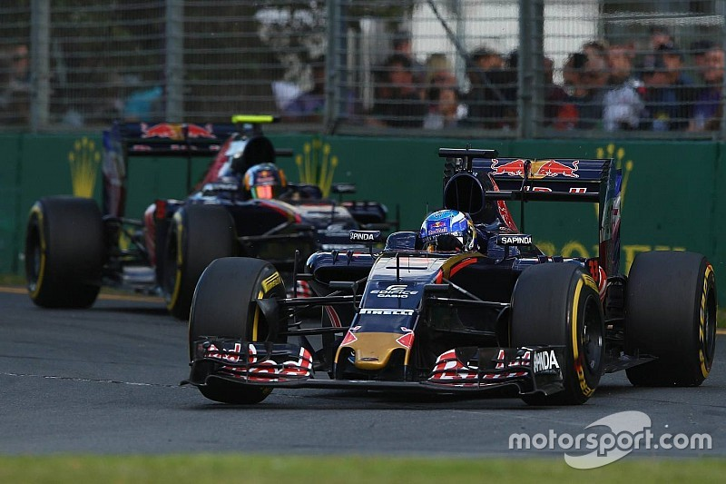 Max Verstappen gegen Carlos Sainz: Es knistert bei Toro Rosso